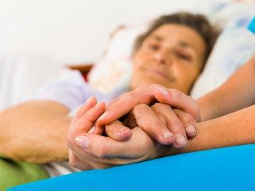 Una enferma de alzhéimer. / US