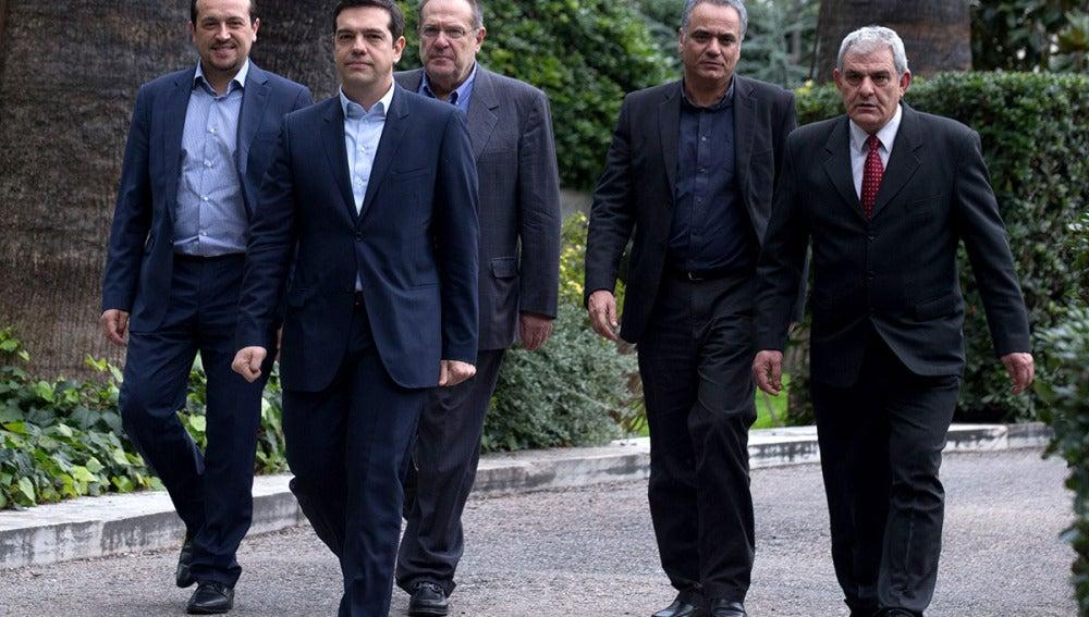 Alexis Tsipras, nuevo primer ministro griego