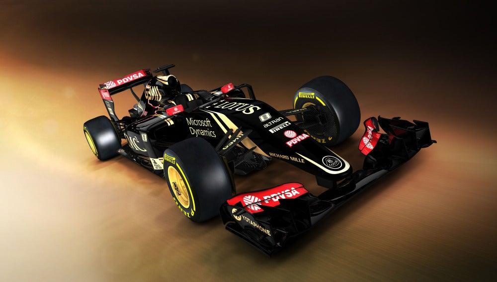 Lotus presenta su nuevo monoplaza de 2015