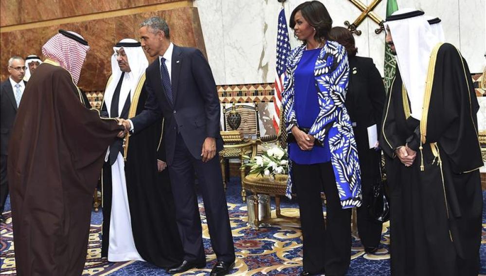 Obama y el rey saudí estrechan la estratégica relación de sus dos países