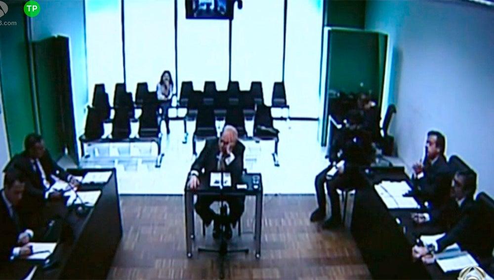 Jordi Pujol ante el juez