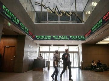 Imagen de archivo de la Bolsa de Atenas