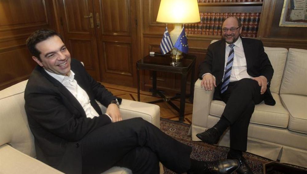 El nuevo primer ministro griego, Alexis Tsipras
