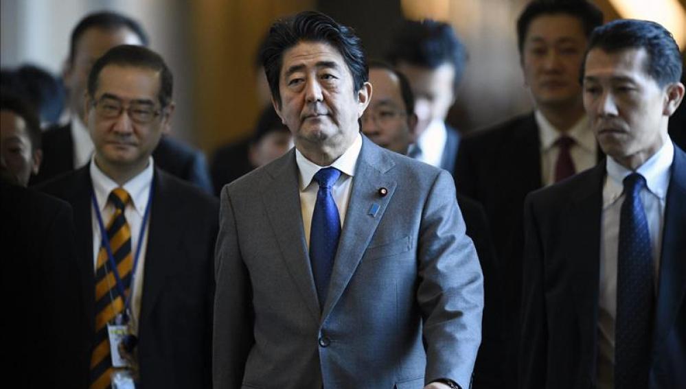 El primer ministro nipón, Shinzo Abe.