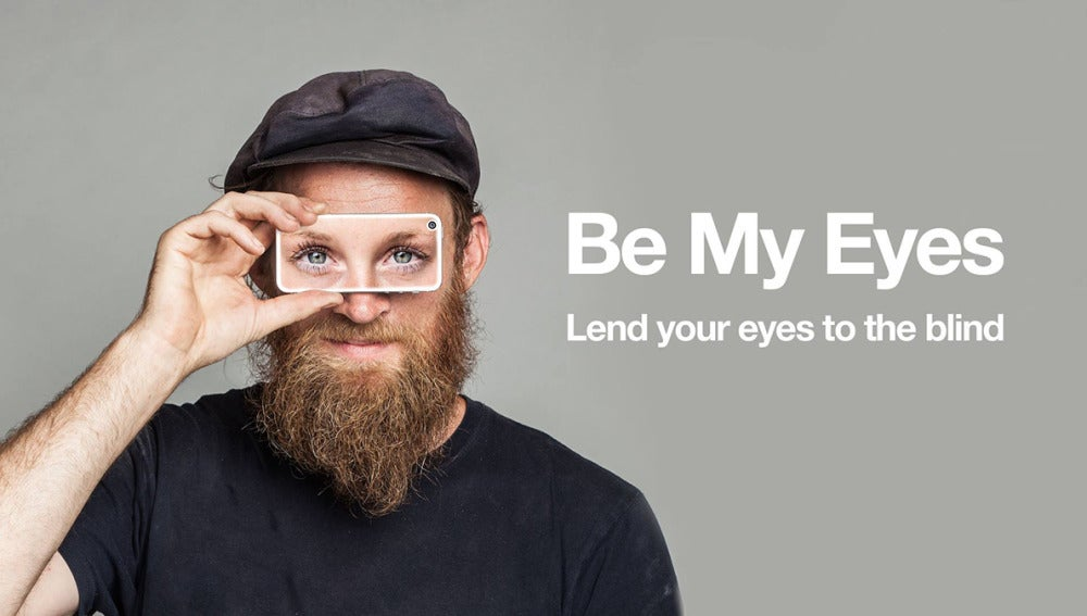 App 'Be my eyes'