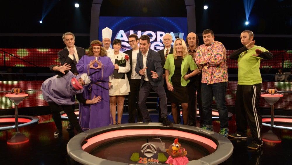 Personajes de Antena 3