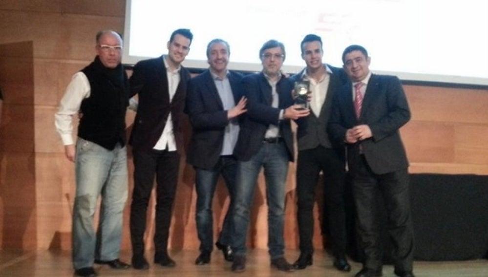 El Chiringuito recibe el Premio Palabra de Fútbol