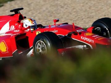 Vettel, con la 'Scuderia'