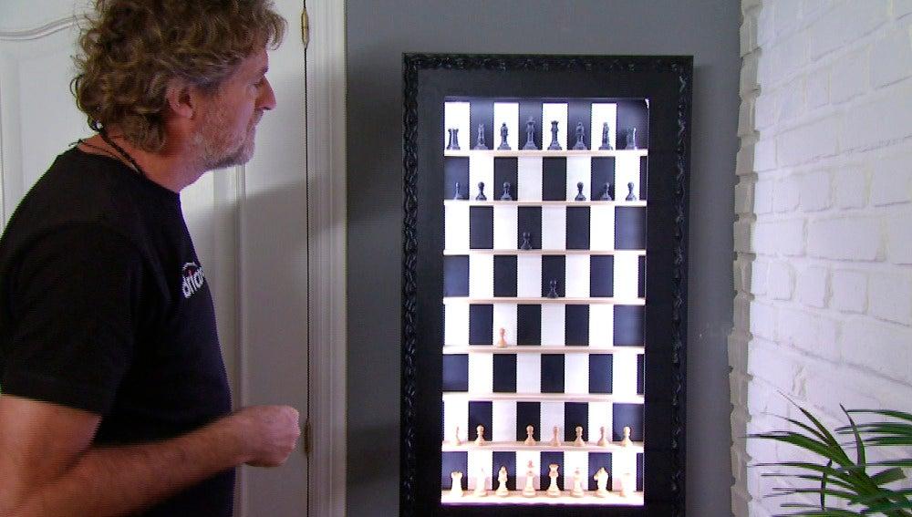 Diseño de un ajedrez vertical