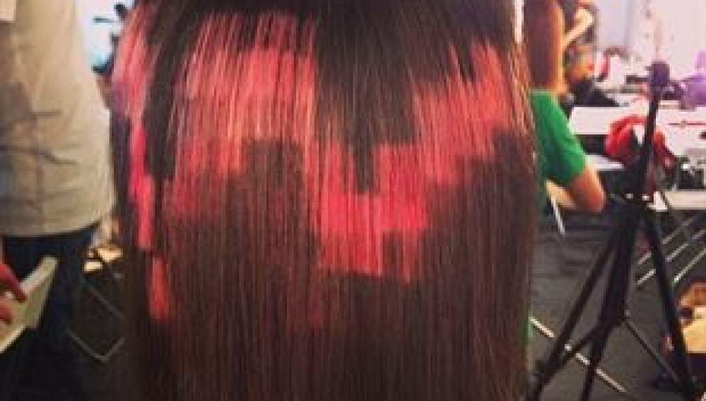 Moda de pixelarse el pelo