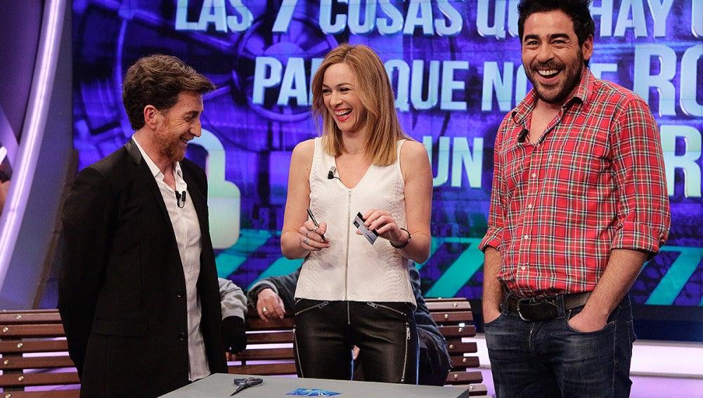 Marta Hazas, Pablo Chiapella y Pablo Motos en El Hormiguero 3.0