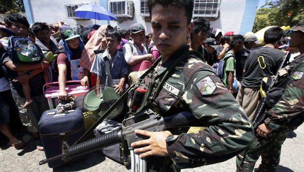 Operación en Flipinas contra rebeldes
