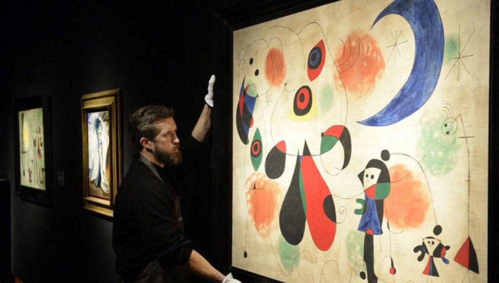 Cuadro de Miró subastado