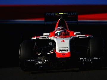 Max Chilton, a los mandos del Marussia