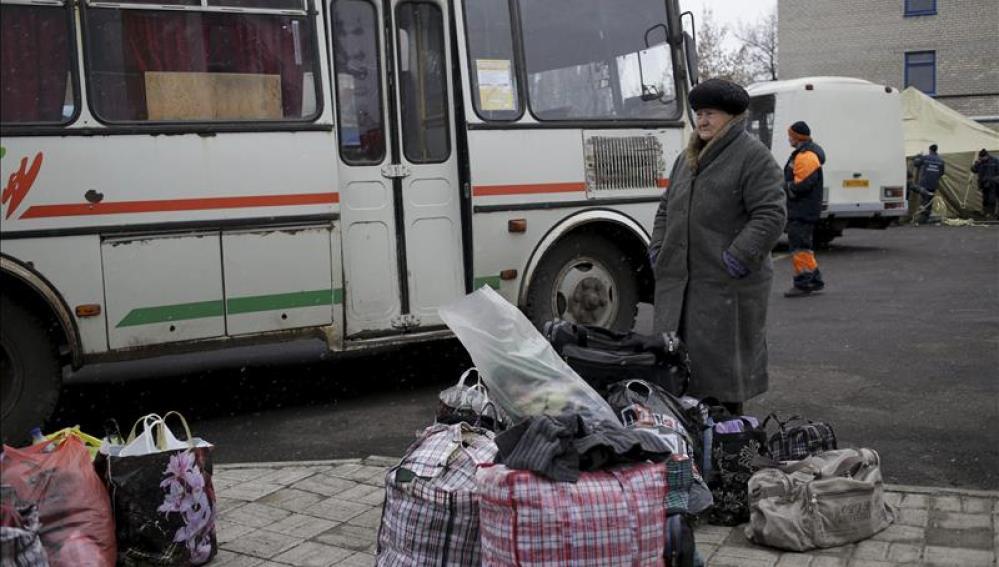 Los prorrusos anuncian la apertura de un corredor humanitario en Debáltsevo