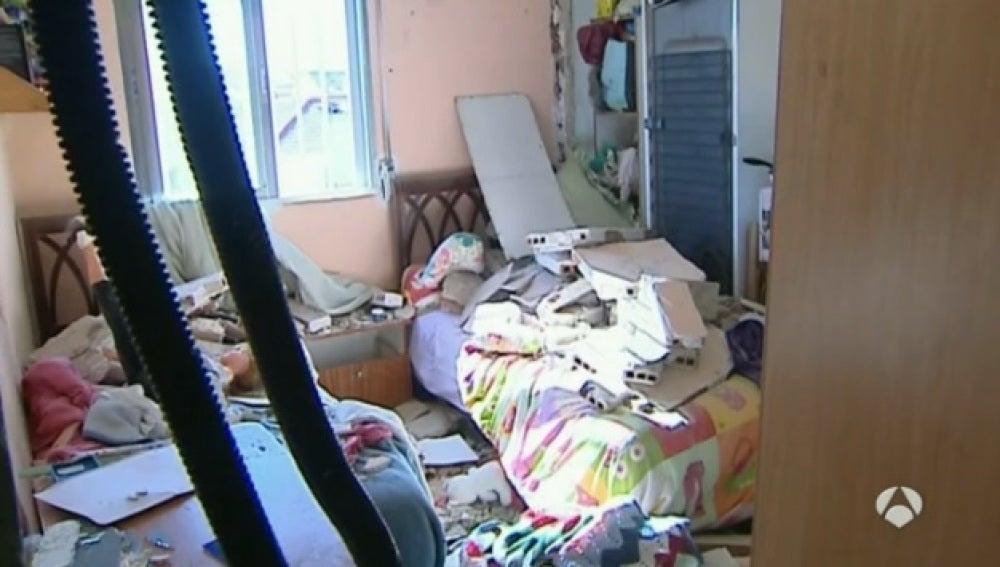 Explosión en una vivienda de Madrid