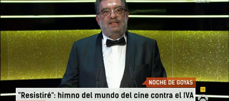 Antena 3 tv espejo p blico analiza la noche de los goya for Ver espejo publico hoy