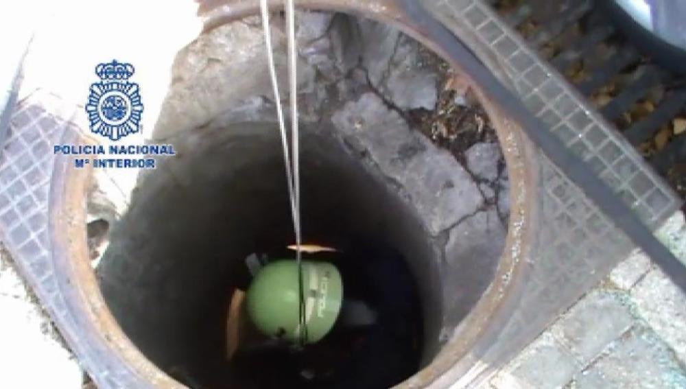 Excavaron un agujero subterráneo para robar un banco