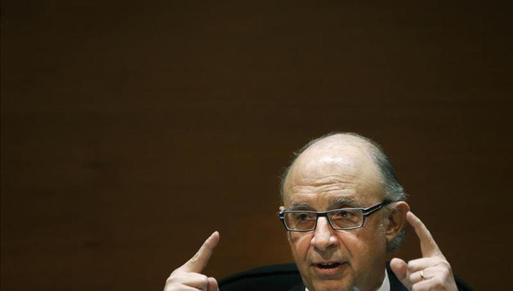 Cristobal Montoro, ministro de Economía.