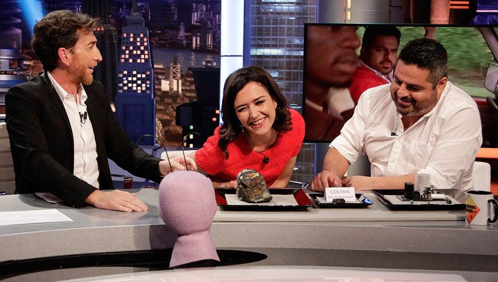 Jalis de la Serna y Alejandra Andrade con Trancas y Barrancas