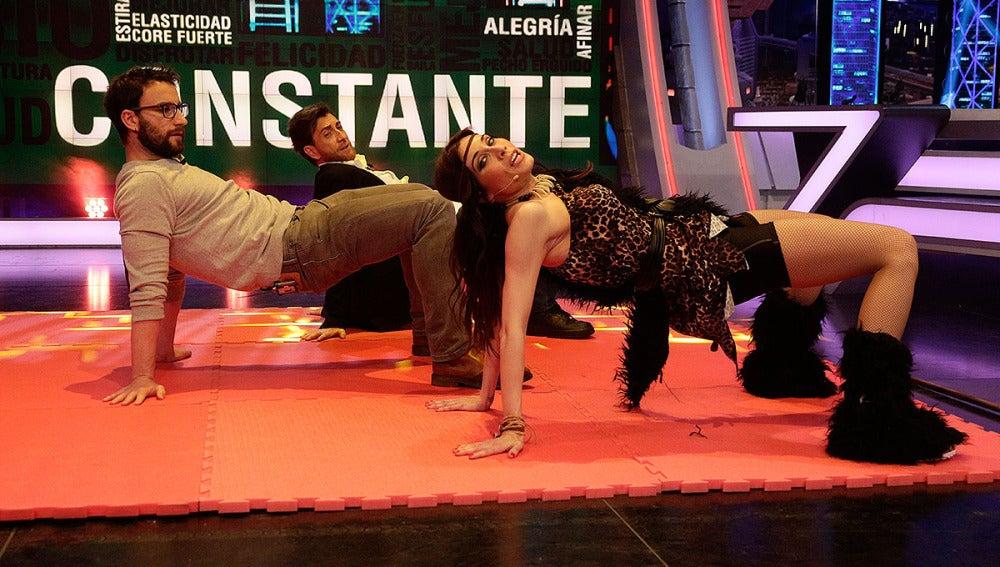 Pilar Rubio, Dani Rovira y Pablo Motos en Cambio Cosntante