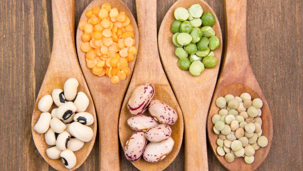 Variedad de legumbres