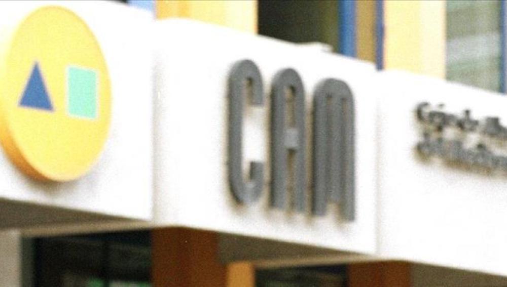 Logotipo de la CAM (Caja de Ahorros del  Mediterráneo)