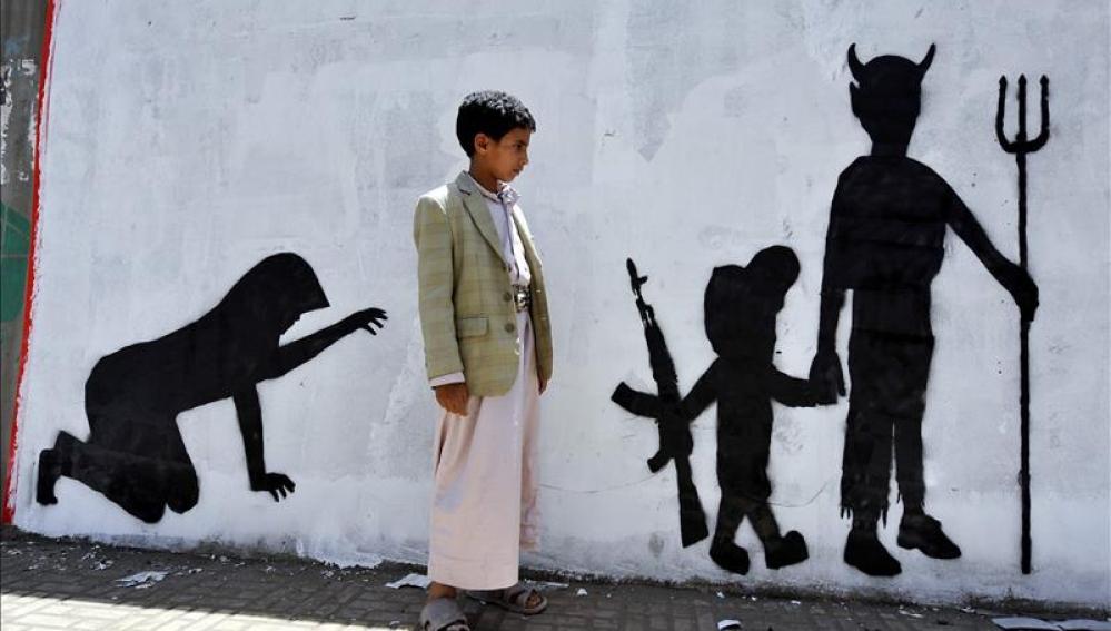 Denuncian el uso de niños soldado en 18 países