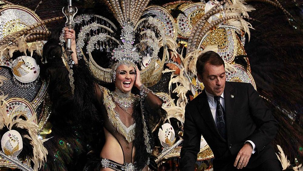 Adtemexi Cruz, reina del carnaval