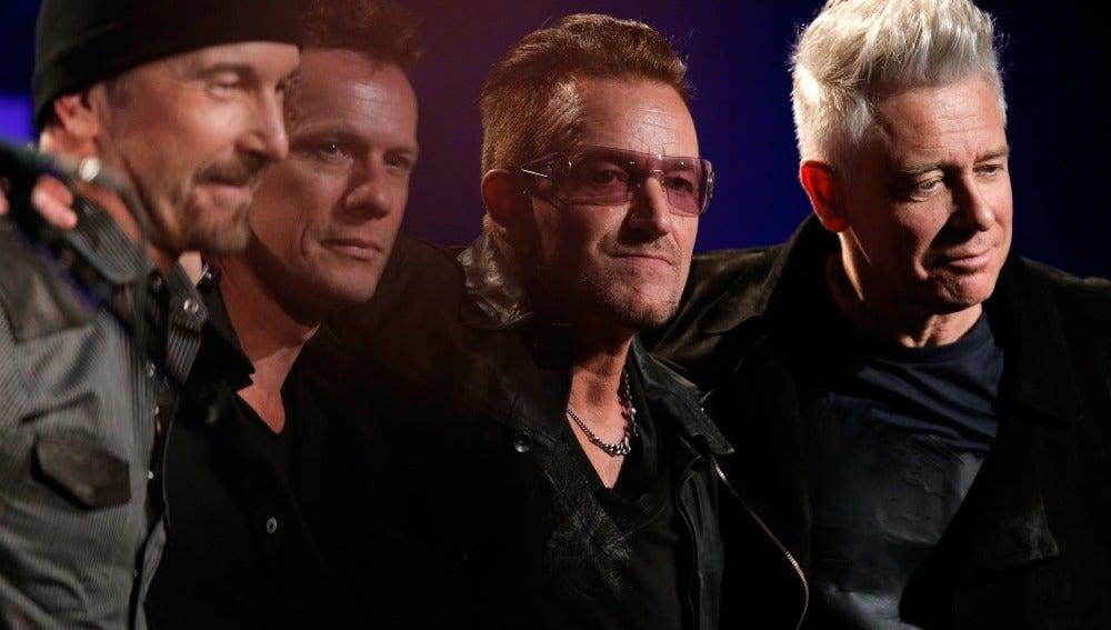 La banda irlandesa de rock U2