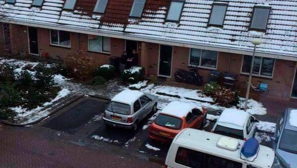 Imegen difundida por la Policía de Delft