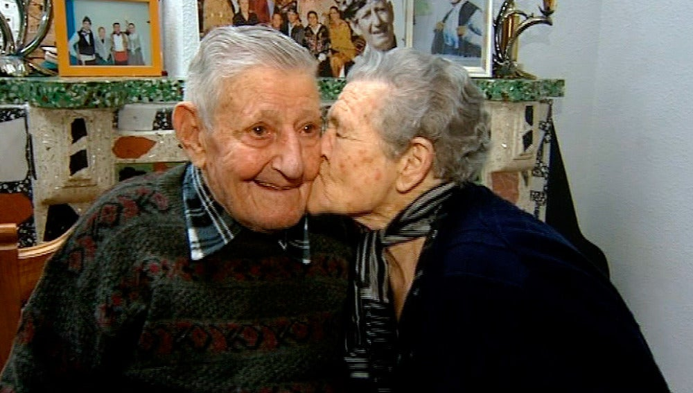 José y Pascuala, 75 años casados