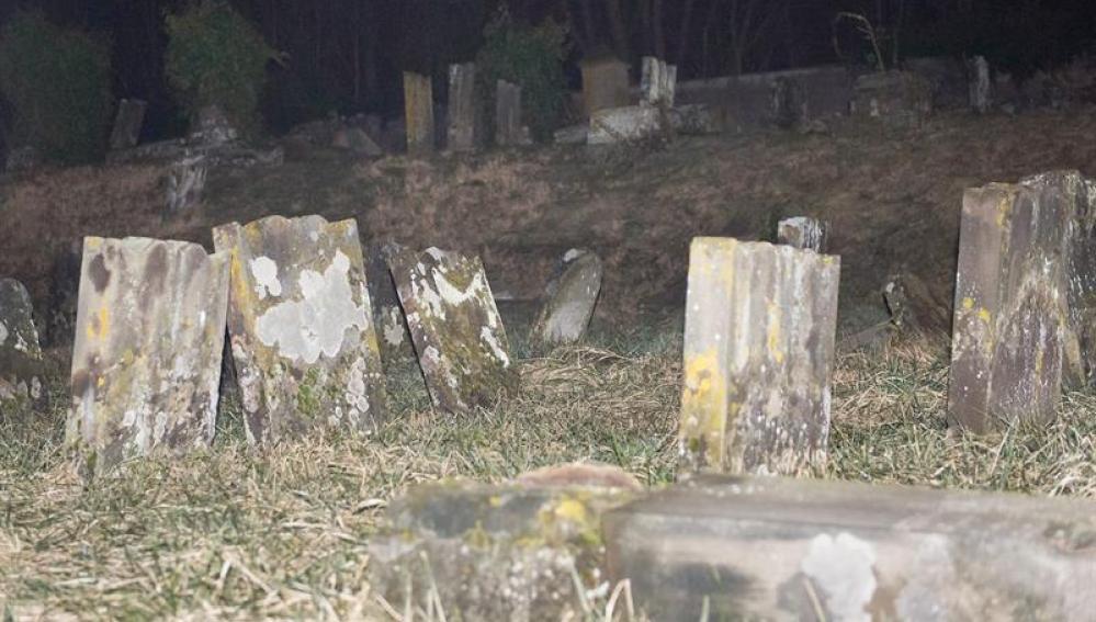Cementerio judío profanado en Francia