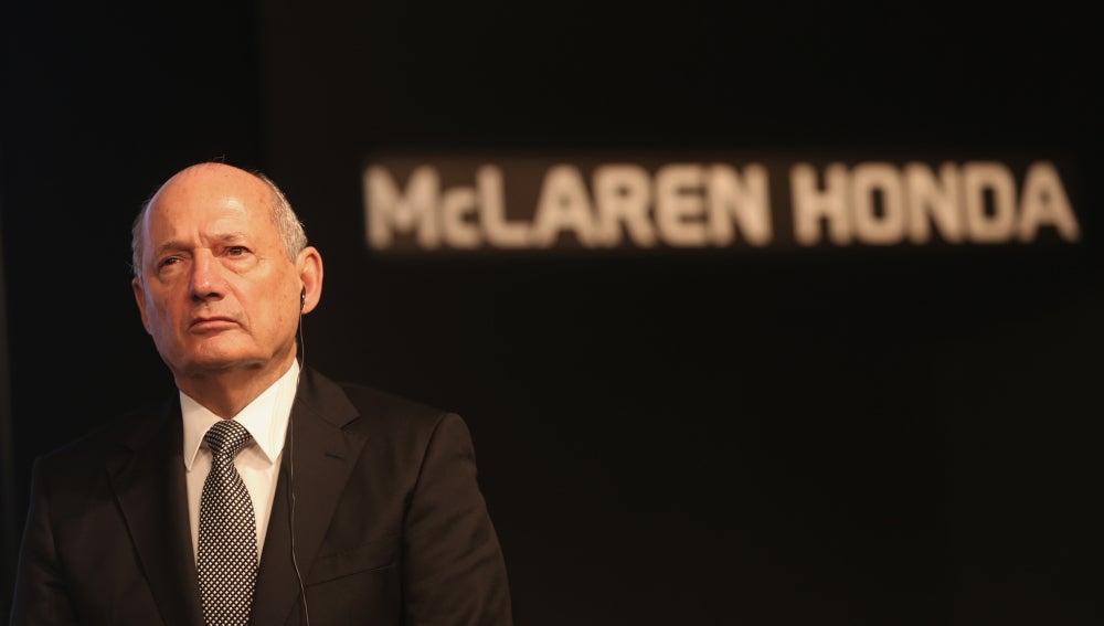 Ron Dennis, jefe de McLaren