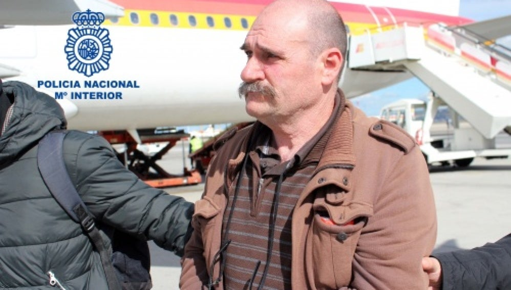 Traslado desde Francia del etarra José Lorenzo Ayestarán Legorburu