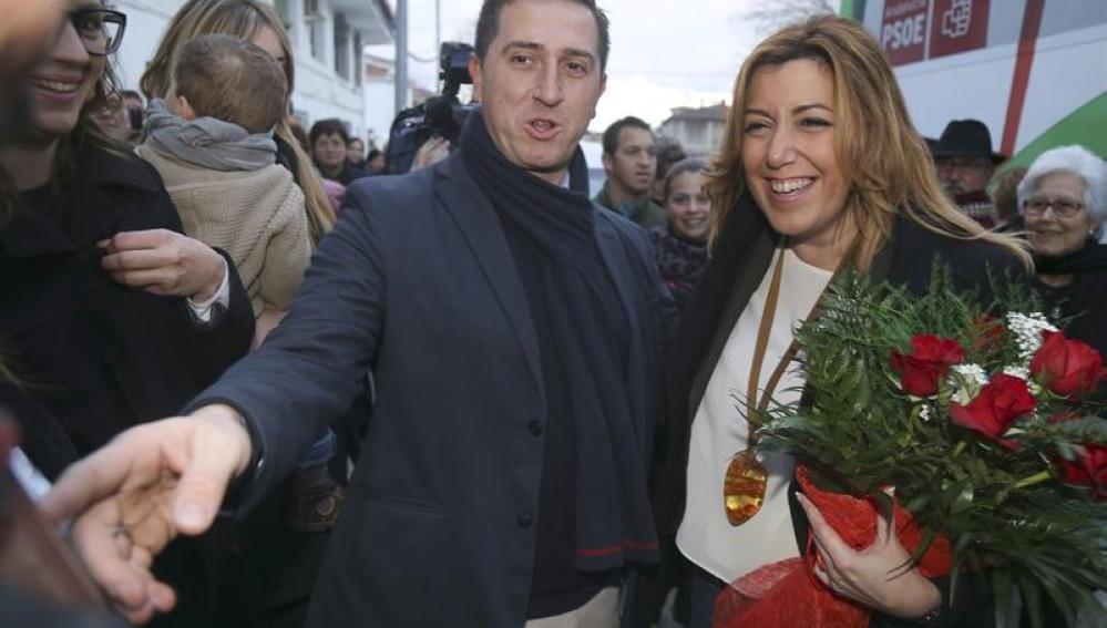 La presidenta de la Junta de Andalucía Susana Díaz