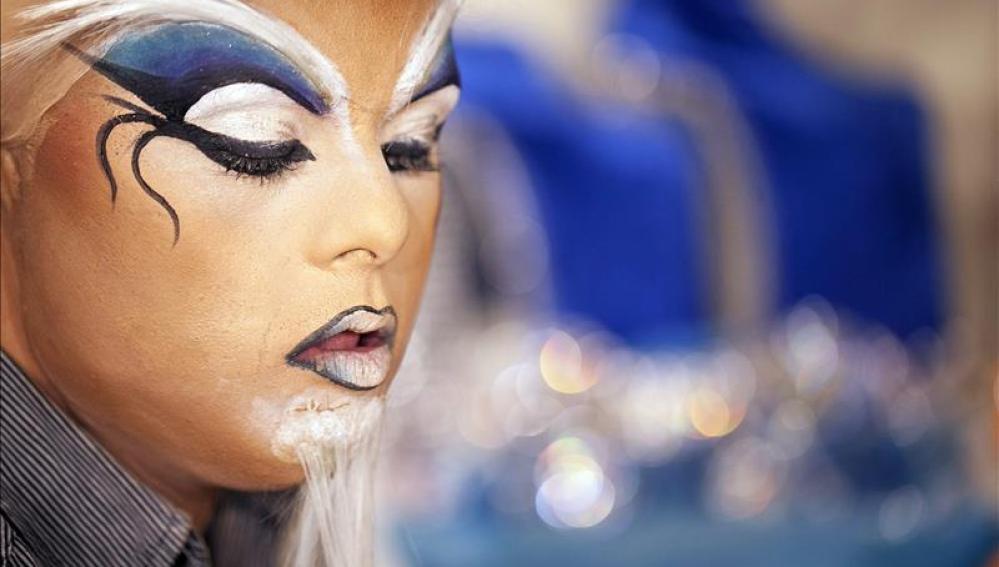 Joven con Síndrome de Down, en el carnaval de Las Palmas