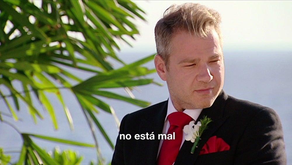 """""""Él tiene acento de más lejos de Murcia"""""""