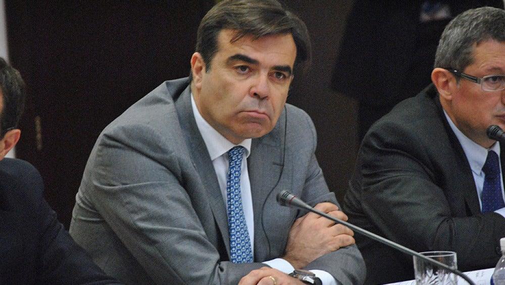 El portavoz del Ejecutivo comunitario, Margaritis Schinas.