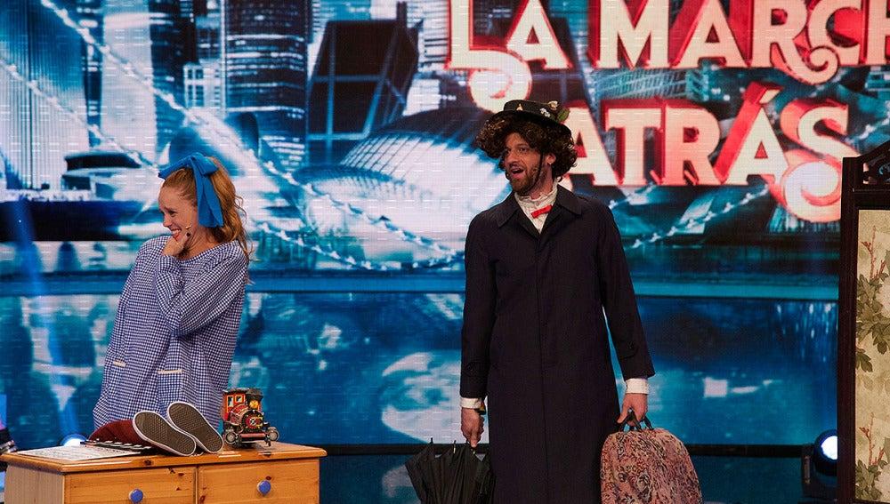 María Castro y Edu Soto hacen una peli al revés