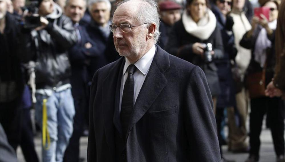 """Rodrigo Rato critica ante el juez las """"lagunas"""" de su fianza en el caso Bankia"""