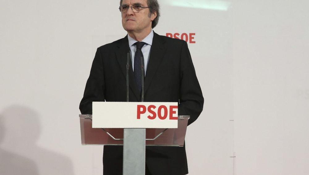 El candidato del PSM a la Comunidad de Madrid, Ángel Gabilondo