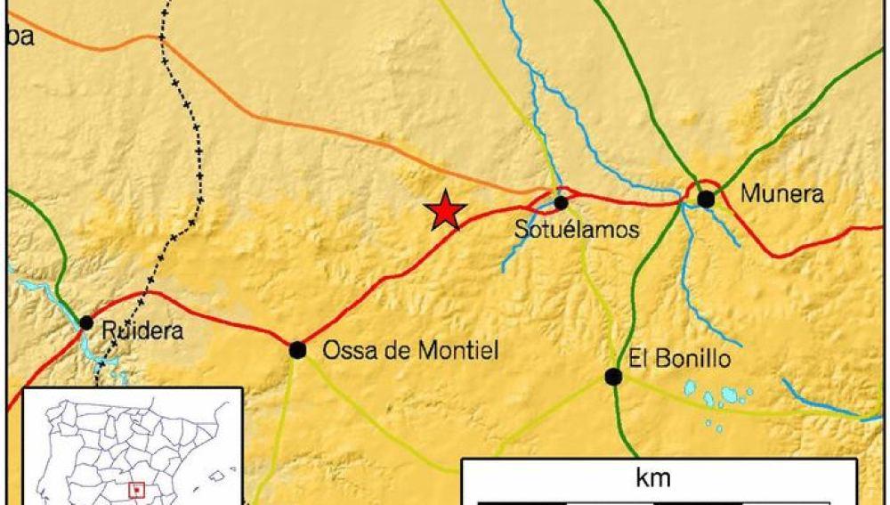 Un terremoto se deja sentir en el centro de la Península, costa mediterránea y Andalucía