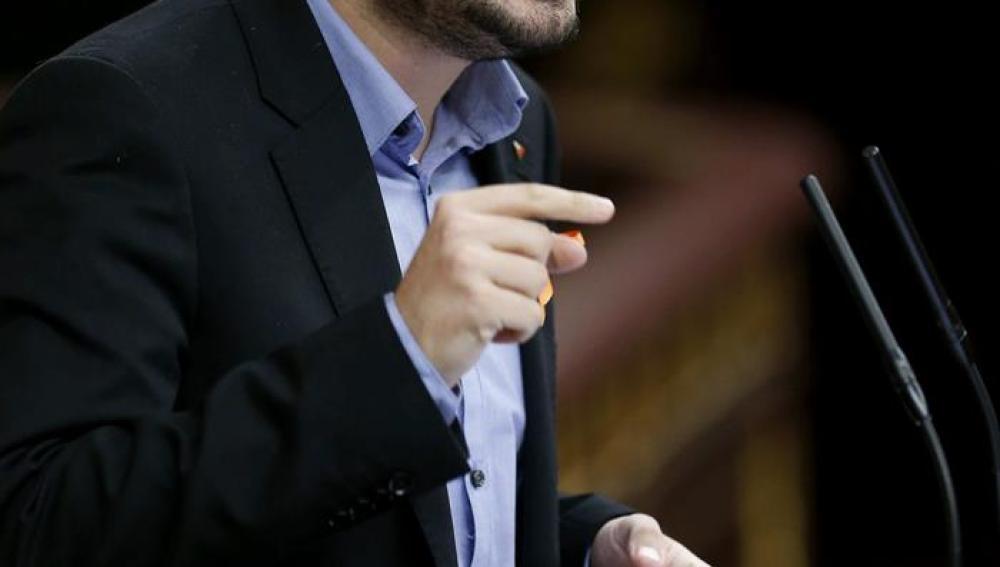 Alberto Garzón en el debate sobre el estado de la nación