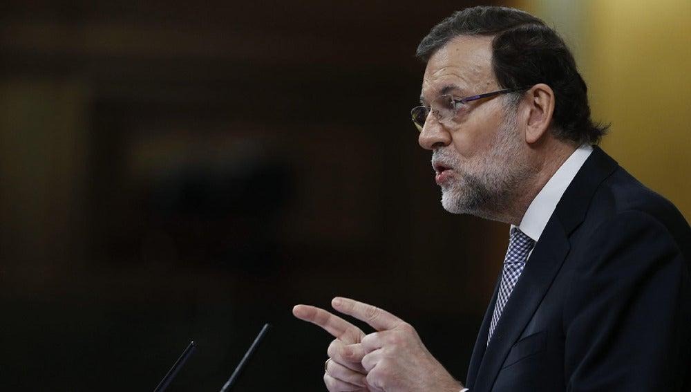 Mariano Rajoy en el Debate del Estado de la Nación