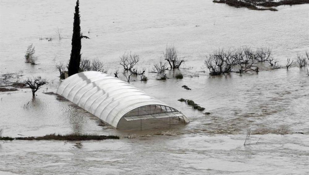 Desbordamientos en España
