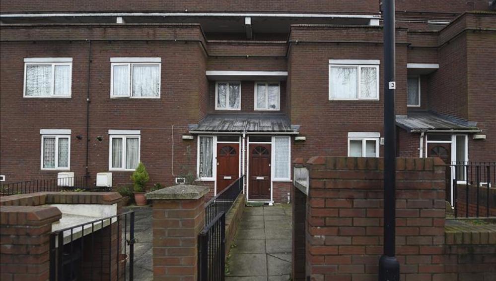Casa donde vivía el yihadista John