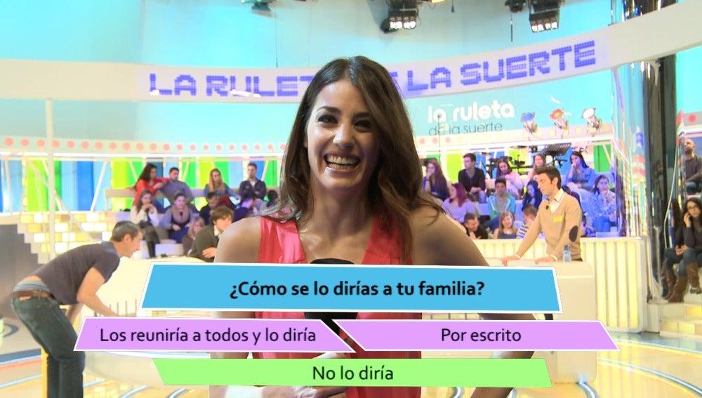 """Laura Moure: """"Para casarme tendría que conocerle primero"""""""