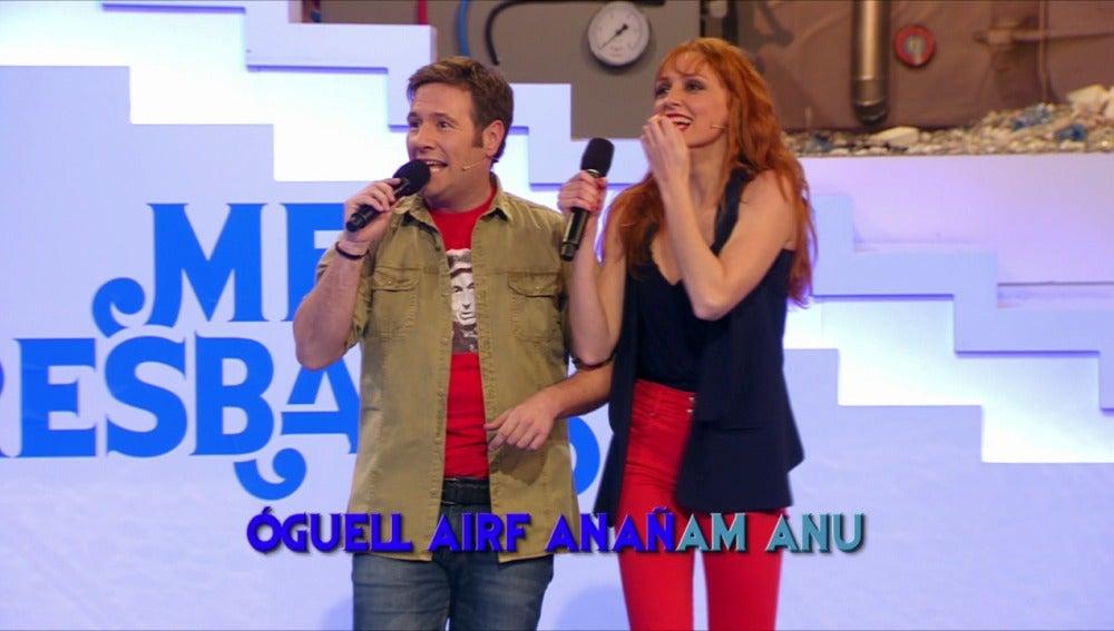 Carlos Latre y Cristina Castañao en Me Resbala