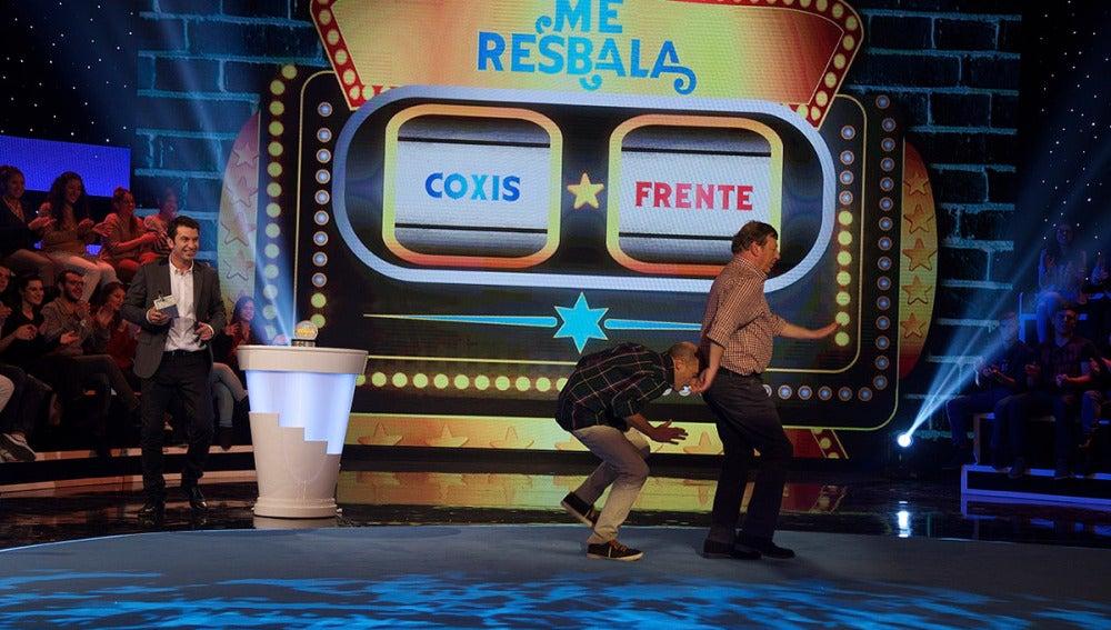 César Cadavall y Pepe Viyuela en Pegar Bailados